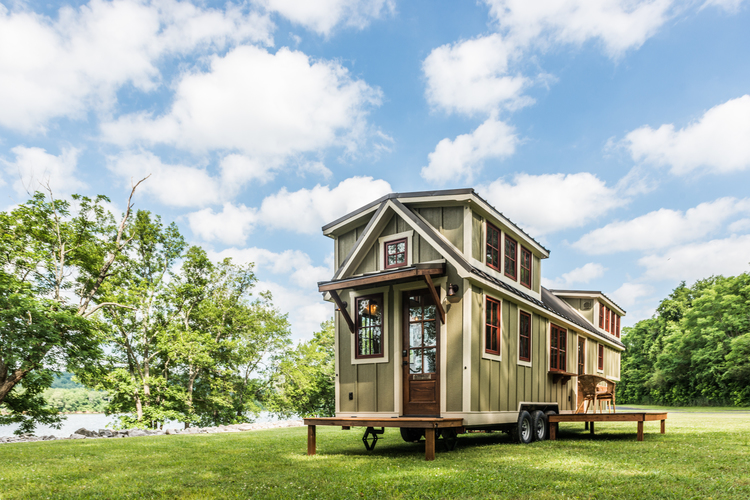 The 37 Denali By Timbercraft Tiny Homes