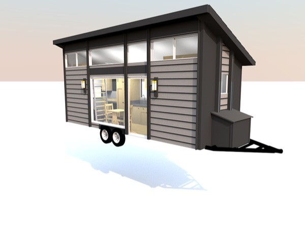 269 Sq Ft Escape Traveler Tiny House