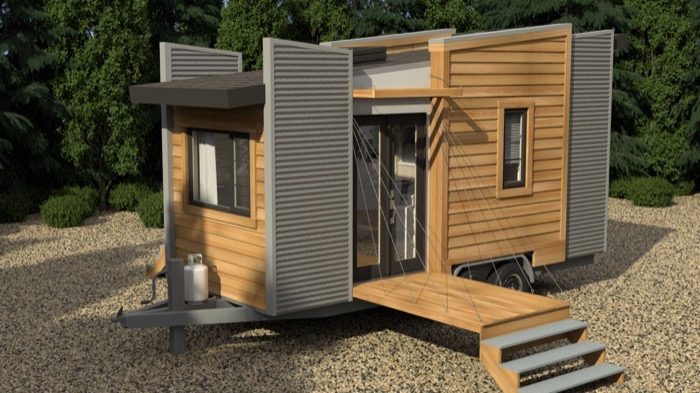 Small Home Plans: Robinson DragonFly Tiny House Design