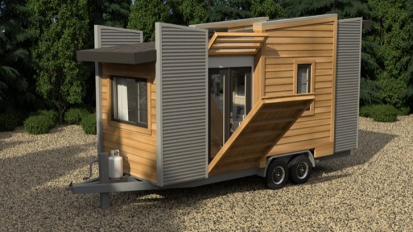 robinson dragonfly tiny house design - Small House On Wheels