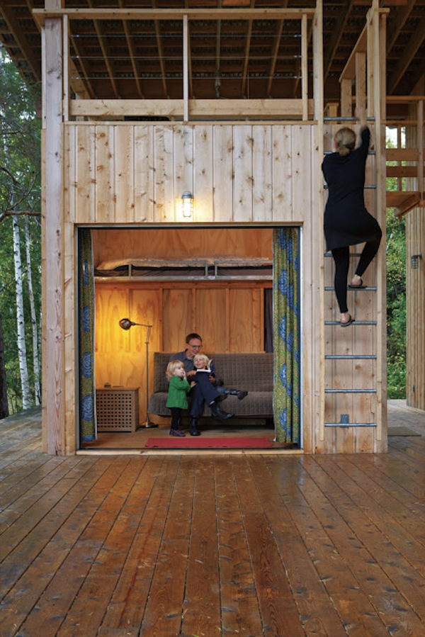 family small cabin compound possible tiny house community design - Two Story Tiny House