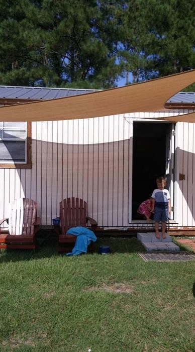Family of 4s Shed to Tiny House Conversion 008