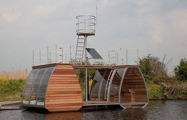 Free Floating Tiny Home in the Netherlands 001