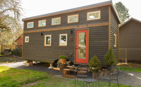 The Light Filled Hikari Box Tiny House on Wheels