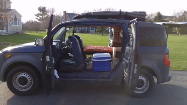 Honda Element Campervan 001