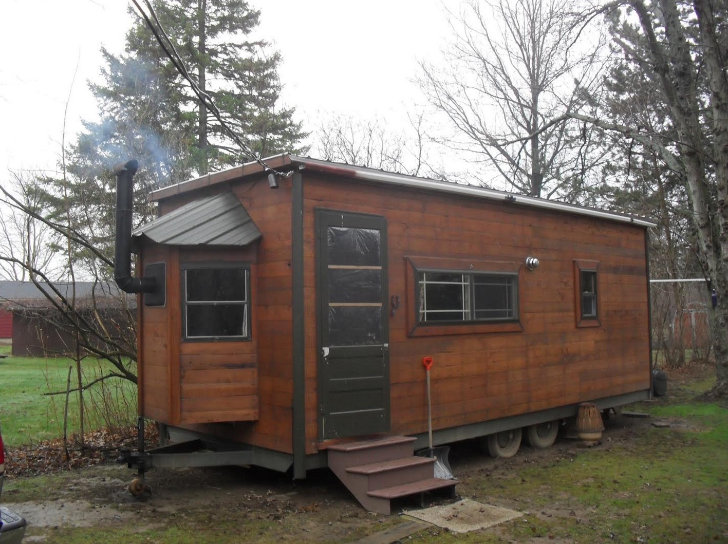 Kerry 39 s 12k tiny house on wheels for sale for Mansion plans for sale