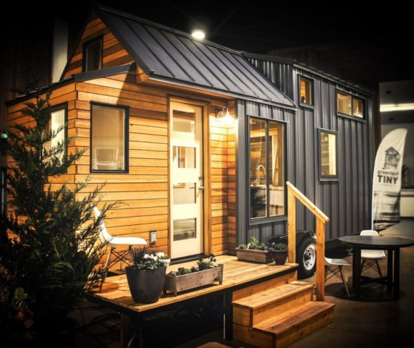 Kootenay Tiny House On Wheels By Green Leaf Tiny Homes - house on wheels