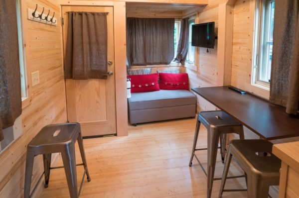 Lincoln Tiny House at Mt Hood Tiny House Village via TinyHouseTalk-com 0013