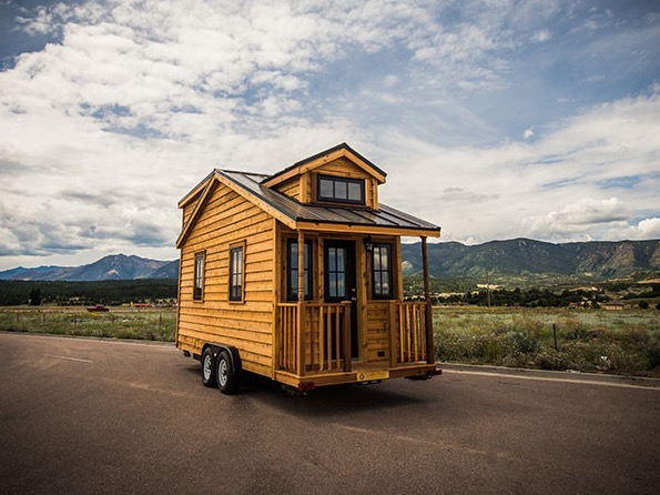 131 Sq Ft Linden 20 Horizon Tiny Home on Wheels by Tumbleweed Houses