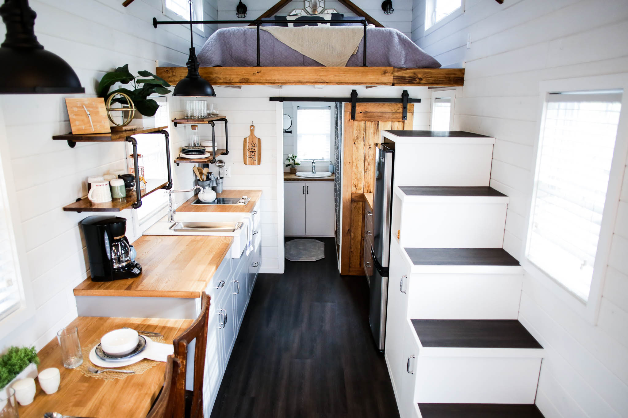 Lititz tiny home modern farmhouse by liberation for Modern mini homes