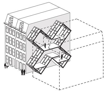 Between Buildings Micro-Housing 03