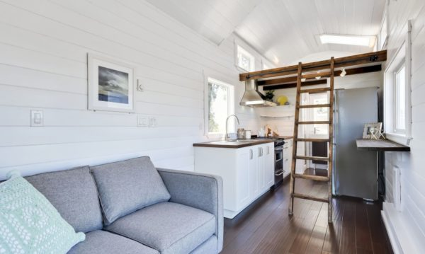 Luxury Mint Tiny Home 003