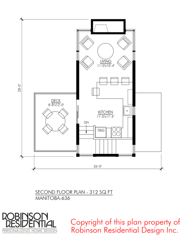 Manitoba 636 Sq Ft Floor Plan Designs