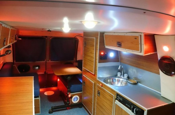 Man S Diy Stealth Camper Van With A Mobile Office Inside