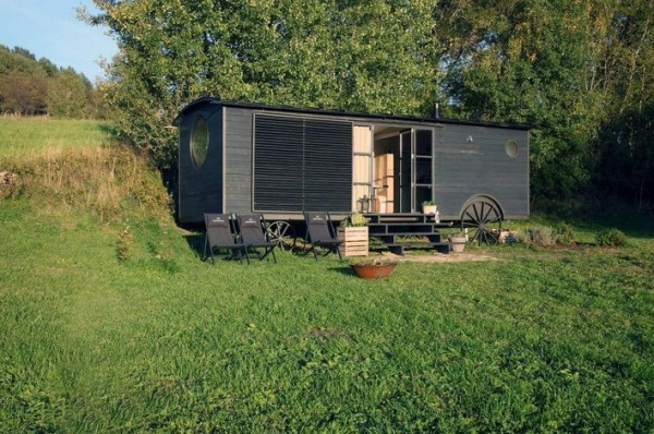 258 Sq. Ft. Maringotka Modern Wagon Tiny House