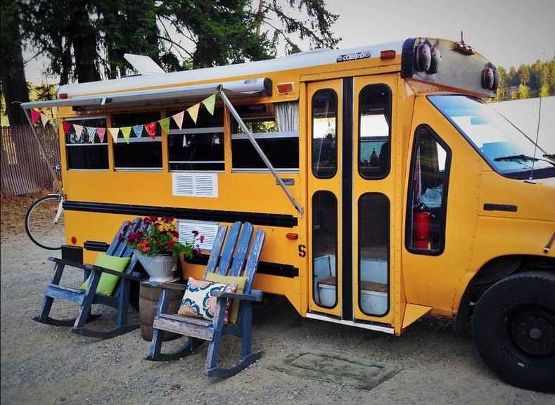 Minette Short Bus Conversion By Von Thompson Creative