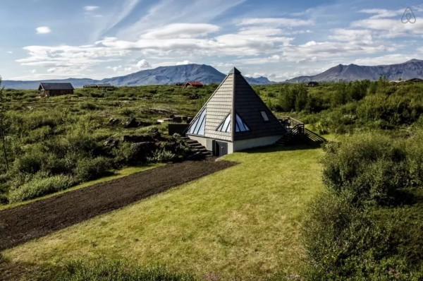Modern Pyramid Cottage in Iceland 0024