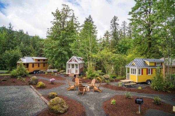 Mt Hood Tiny House Village 003