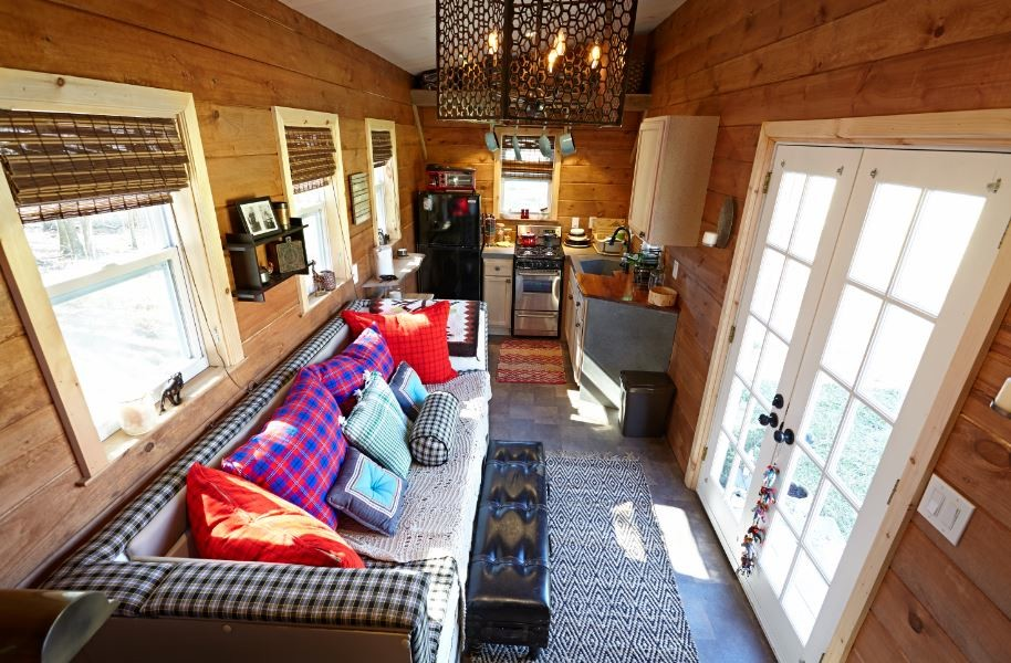 Married Couples 276 Sq Ft Gooseneck Tiny House