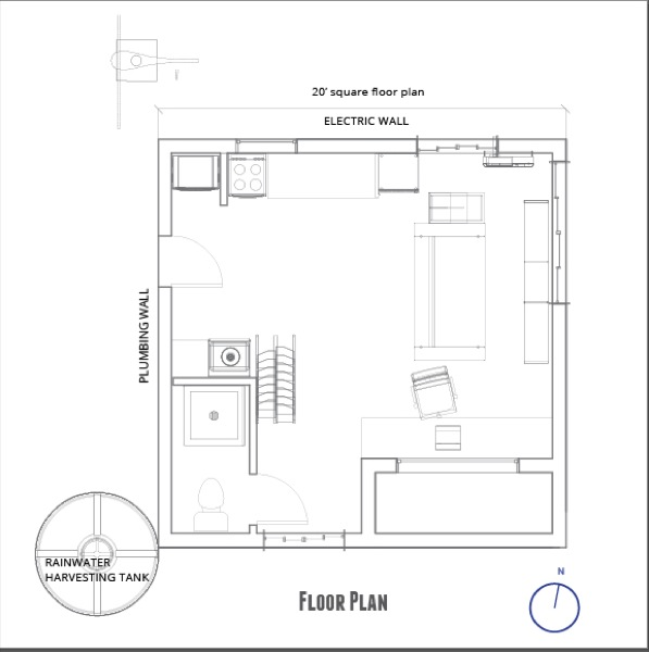 Small off grid home plans tiny offgrid rustic log cabin for Prototype house plan