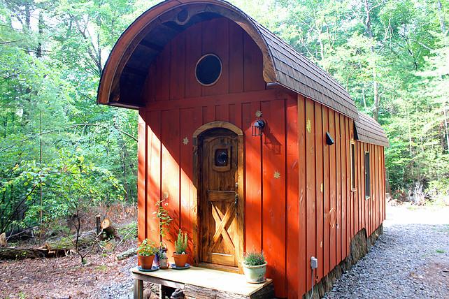 Old Timey Caravan Tiny House