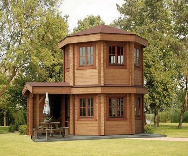 The Toulouse Pavilion Tiny House
