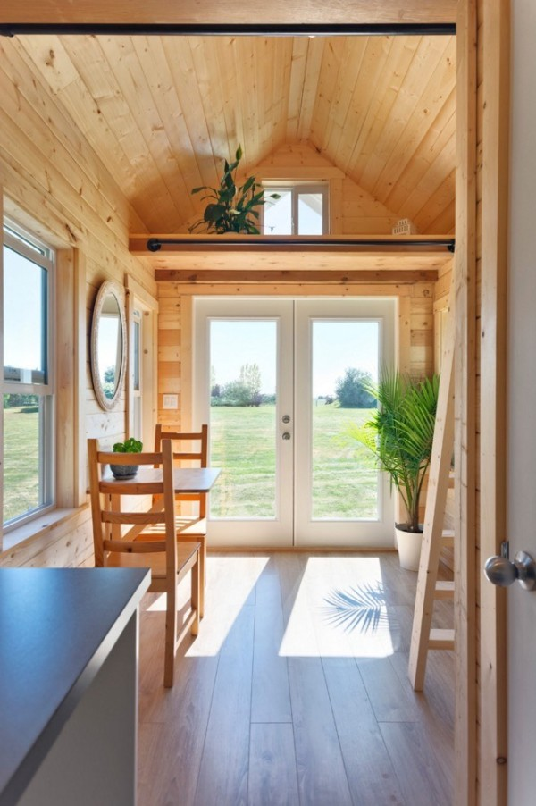 160 Sq Ft Tiny Pink House By Tiny Living Homes In Canada