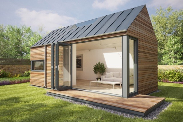 Tiny Home Designs: Modern Eco Pod Tiny House By Pod Space