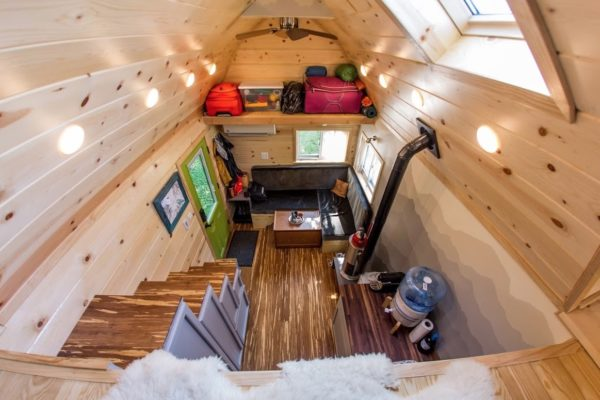 Portable Pioneer Tiny House Photo by Aaron Lingenfielter via TinyHouseTalk-com 0023
