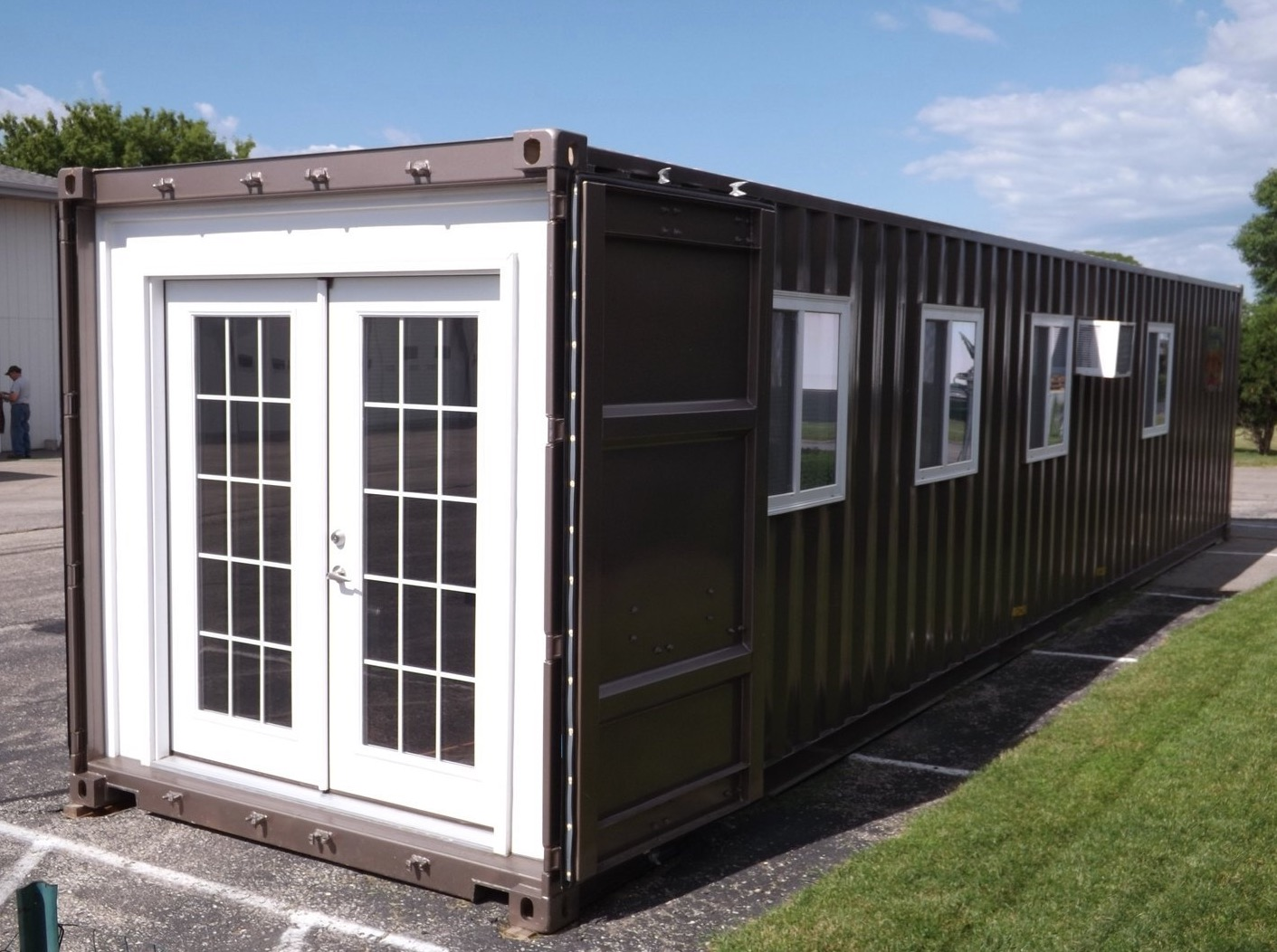 Prefab Shipping Container Tiny Home On Amazon