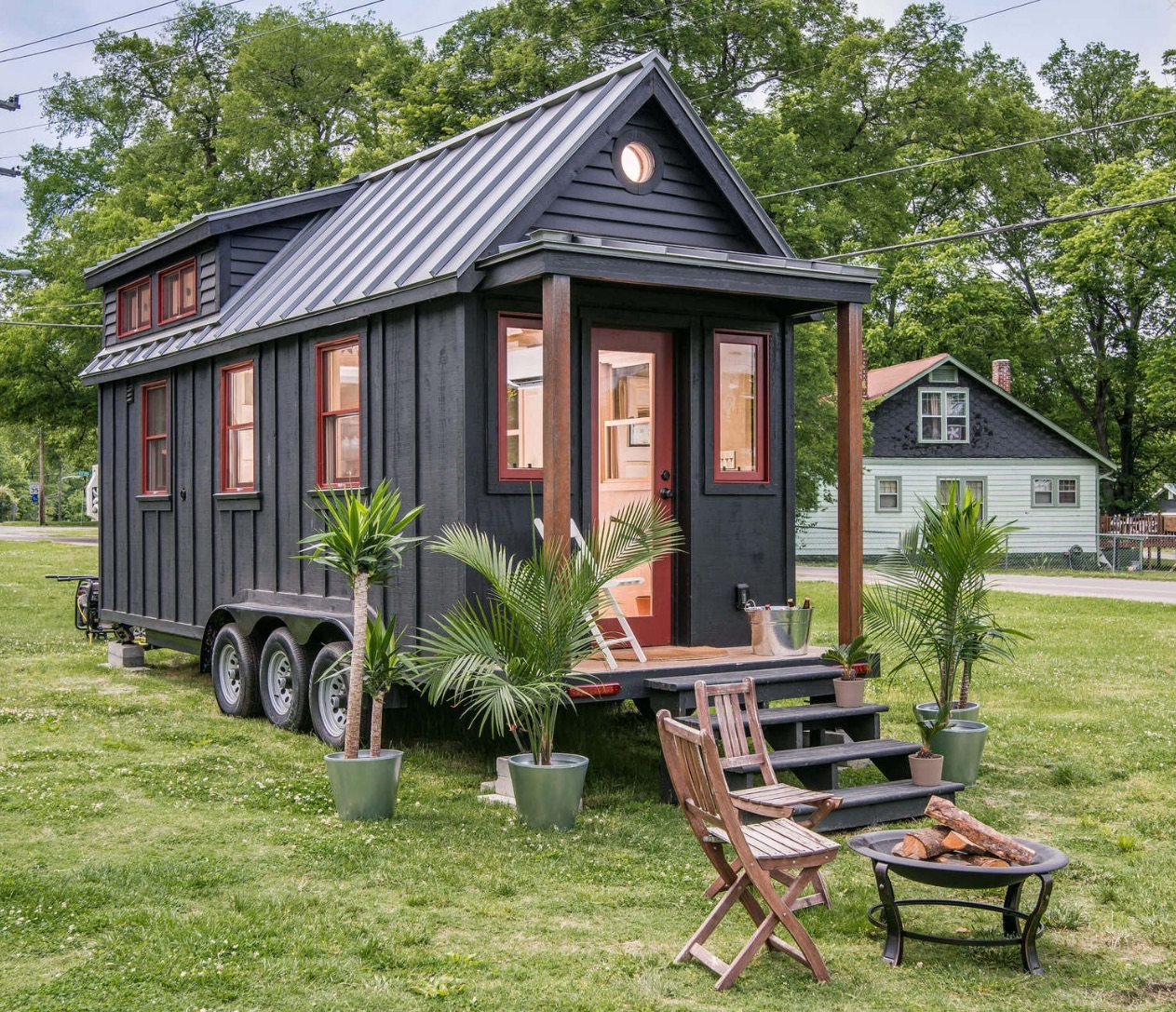 Tiny Victorian House Plans Small Cabins Tiny Houses Homes: Riverside Tiny House
