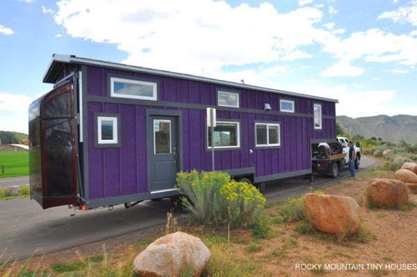 The Pemberley 37' Gooseneck Tiny House from Rocky Mountain Tiny Houses