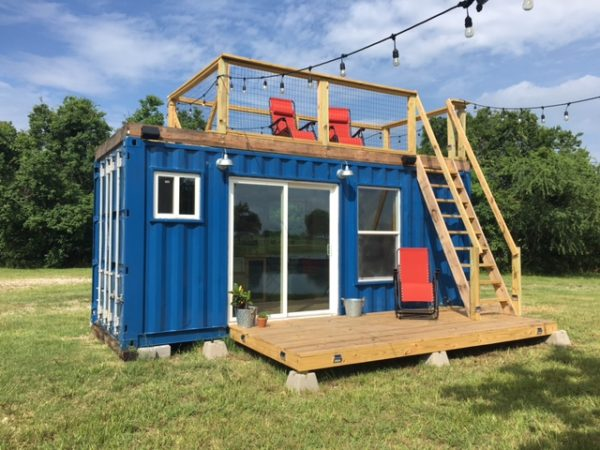 Rustic Retreat Shipping Container Tiny House 29 9k