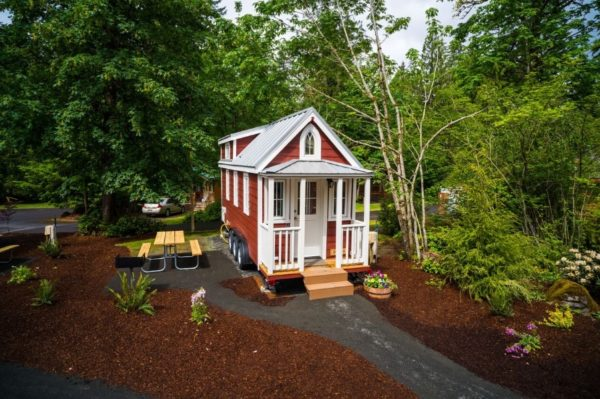 Scarlett Tiny House at Mt Hood Tiny House Village 0018