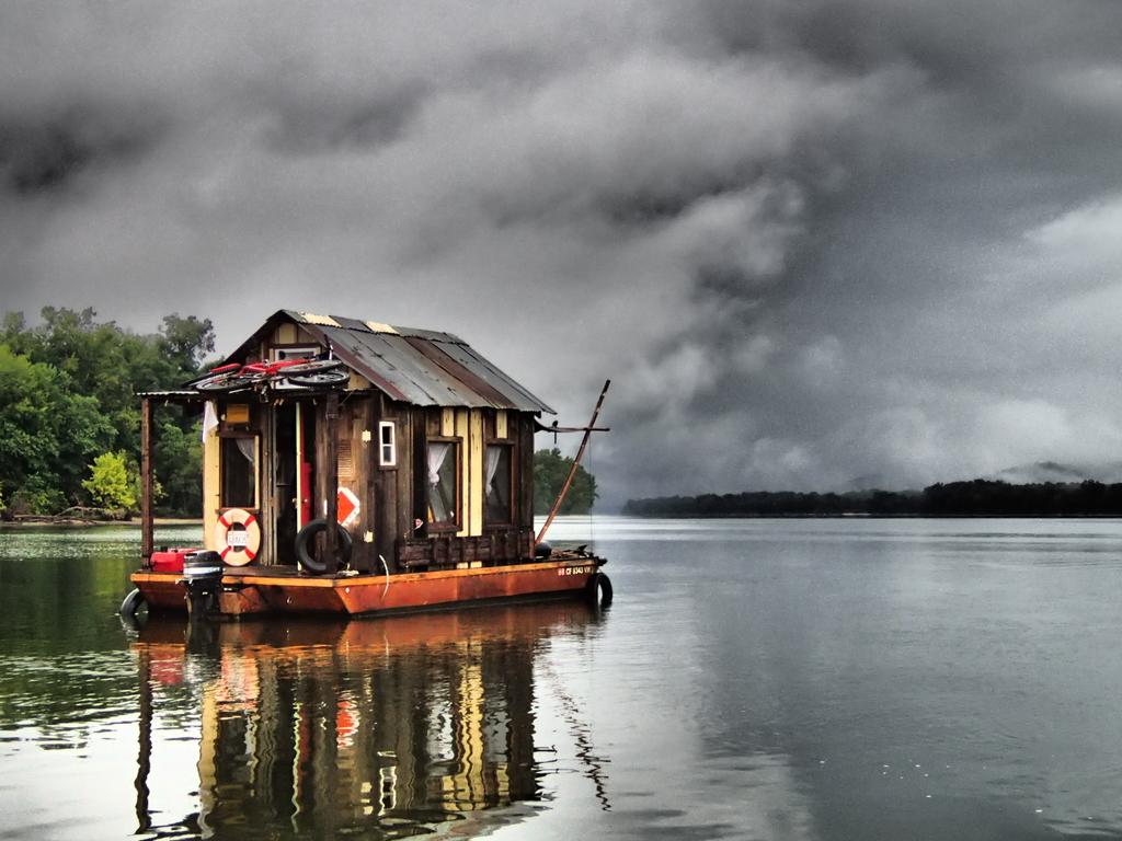 The Secret History Tiny Shanty Boat
