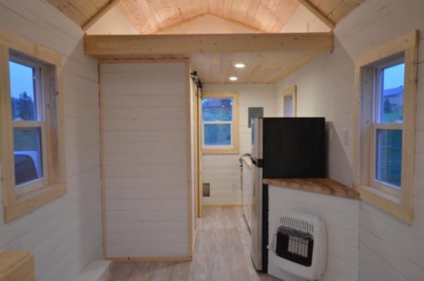 Soco tiny homes 20 ft tiny house on wheels for sale Small house heating systems