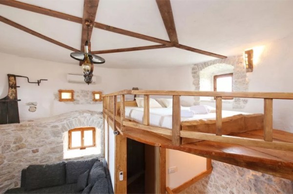 Stone Tower Cabin in Croatia 0022
