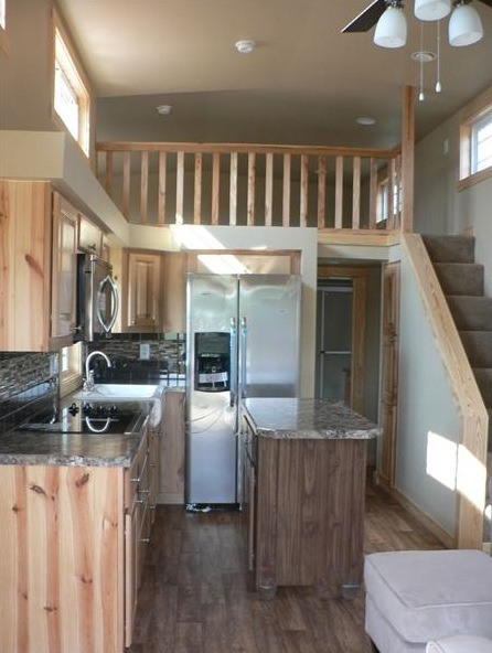 400 Sq Ft 400 sq. ft. sunnyside park model tiny house on wheels