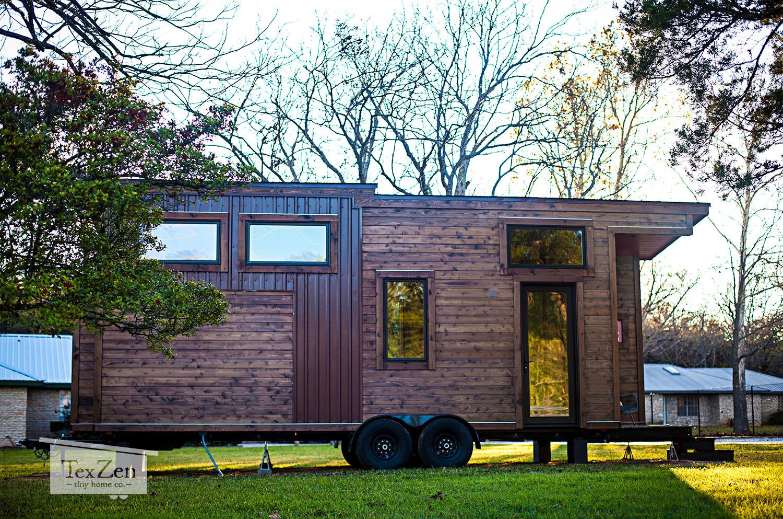 Texas Zen Single Loft Tiny House On Wheels