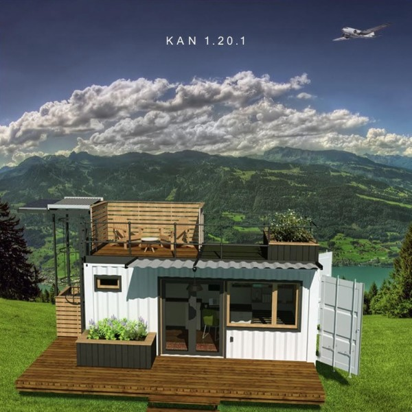 The KAN Shipping Container Tiny Home 002