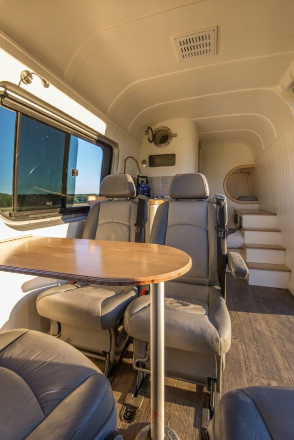 Mercedes Sprinter Motorhome Interior >> The Moving House Tiny Motorhome