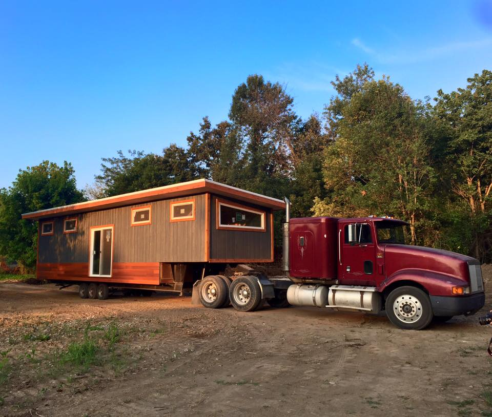 Seth 39 s not so tiny tiny house on wheels for Micro homes on wheels