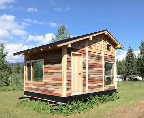 Micro Home efficient houses 192 Sq Ft Micro Home The Red House By Tiny Life Supply