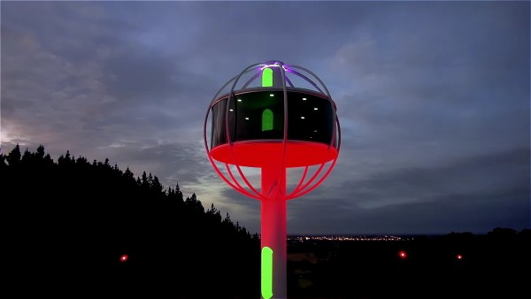 The Skysphere Modern High Tech Tiny Cabin with 360 Views 006