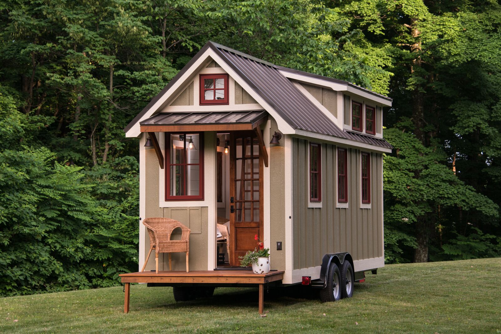 150 sq ft timbercraft tiny home for Micro cottage builders