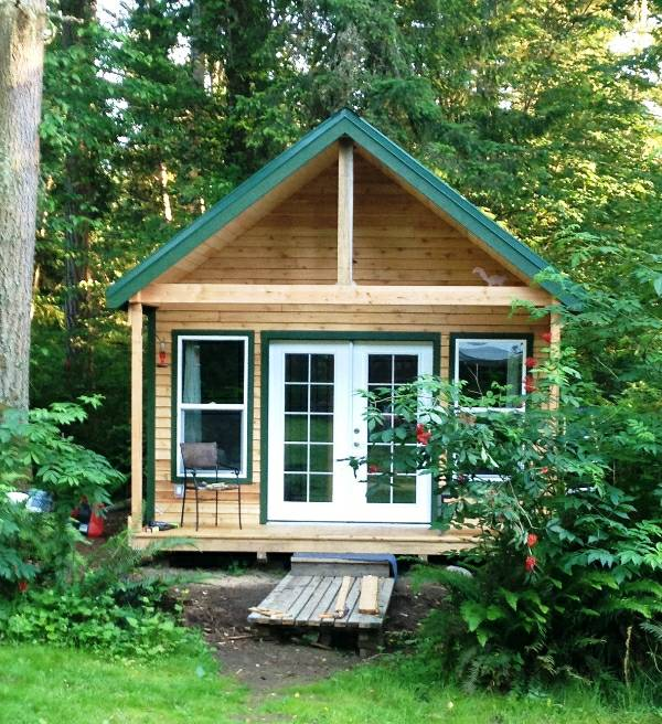 355 sq ft tiny cabin for sale in graham washington