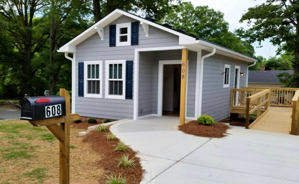 Habitat for humanity tiny house in cabarrus county nc Handicapped accessible homes for sale