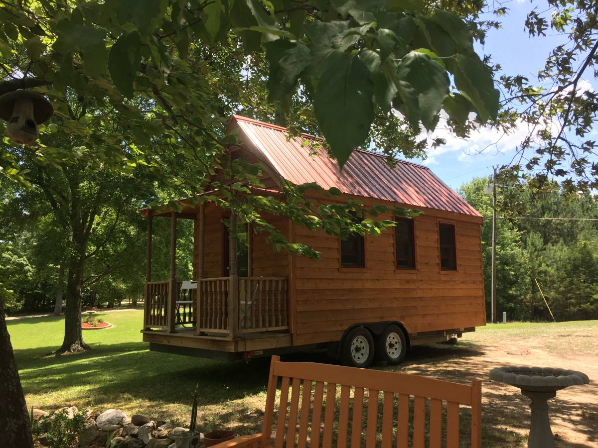 W Fishing Hooks Tiny House RV For Sale...