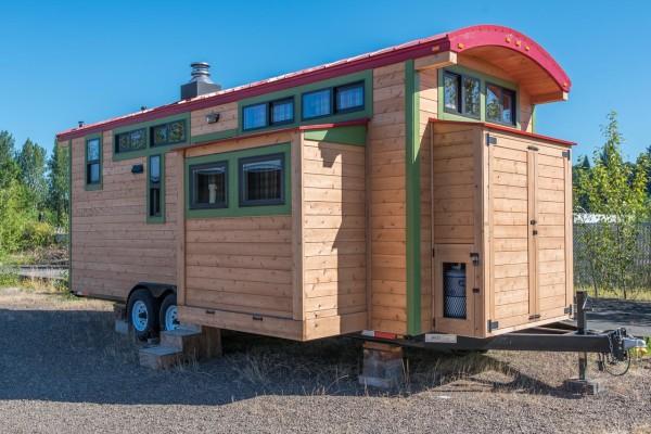 Раздвижной дом на колесахх
