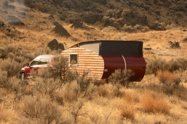 Tiny House-inspired Pop Up Travel Trailer by Home Grown Trailers 0011